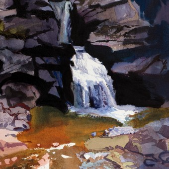 Waterfall, Glen Coe