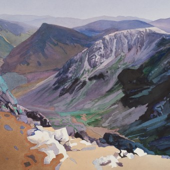 Fleetwith pike from High Crag, Lake District