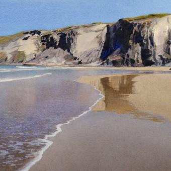 Low tide, Trebarwith