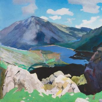 Above Llyn Idwal, Snowdonia
