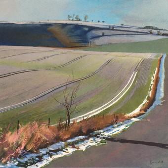 Cherhill Down, Winter