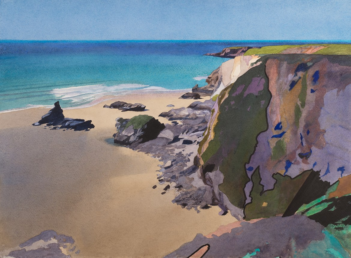 Flat Sea, Bedruthan Steps