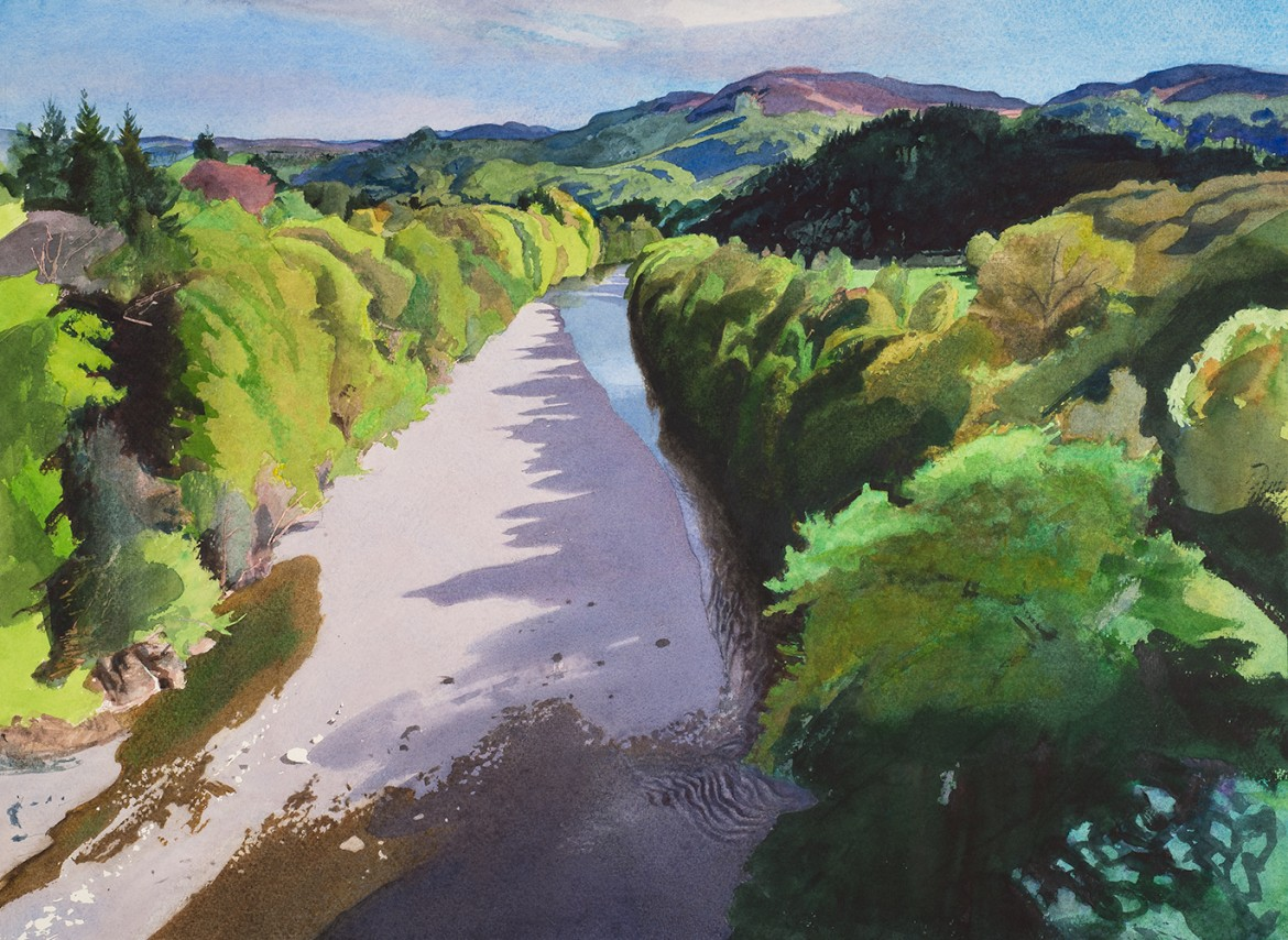 SPRING, River Garry, Perthshire