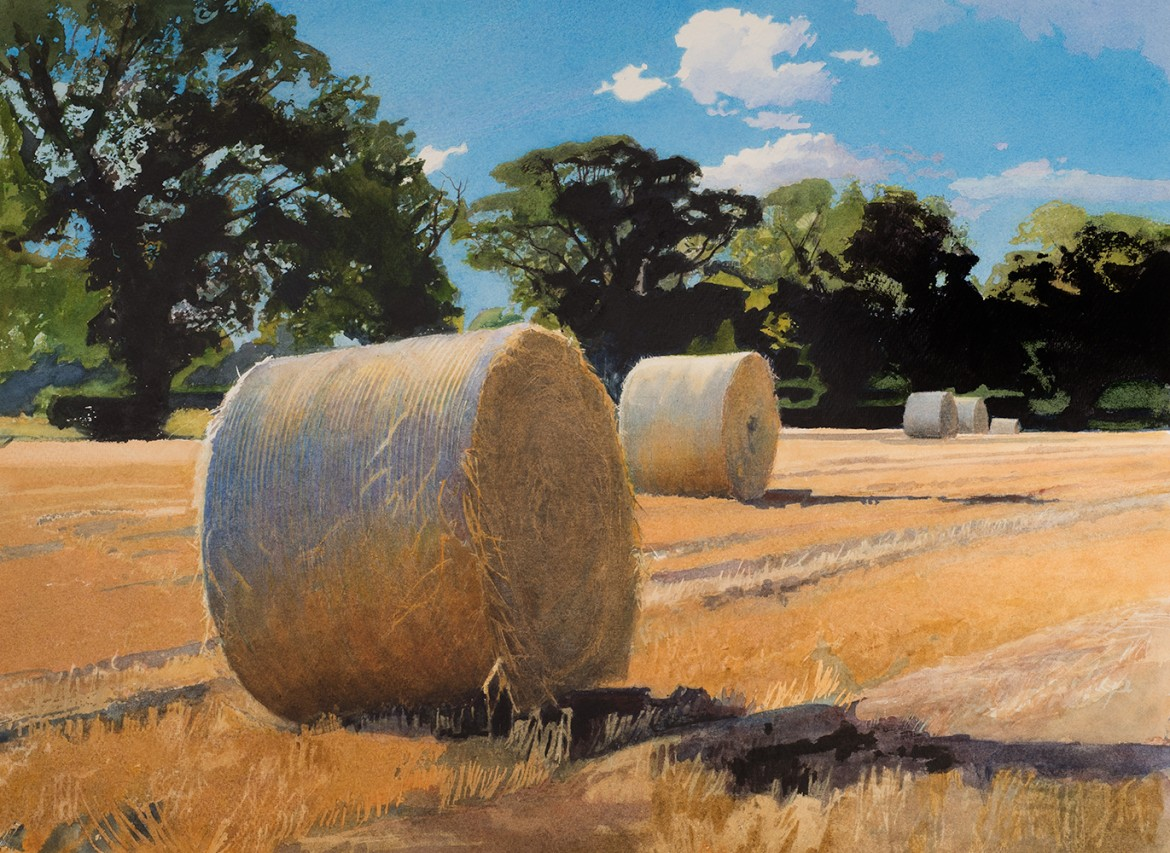 SUMMER Straw Bales