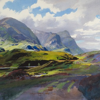 Old Track, Glen Coe