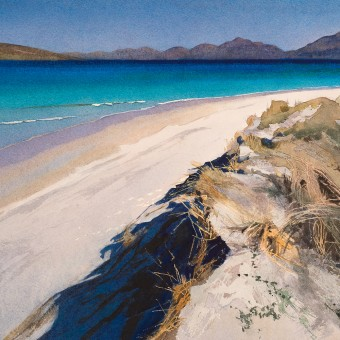 Three waves, Luskentyre Beach, Harris