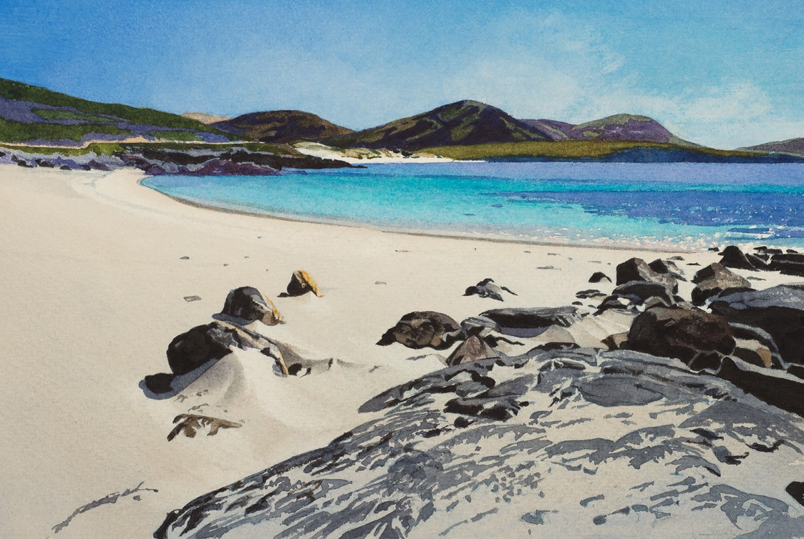North ton Beaches, South Harris