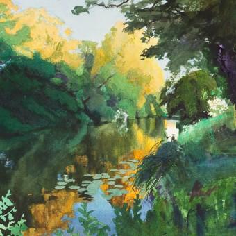 River Avon, Evening