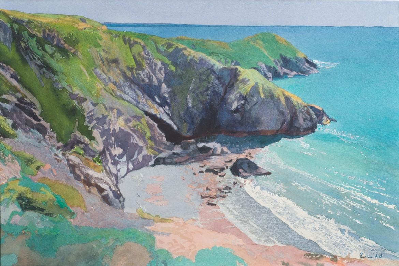 Calm Sea, Dinas Fawr, Pembrokeshire