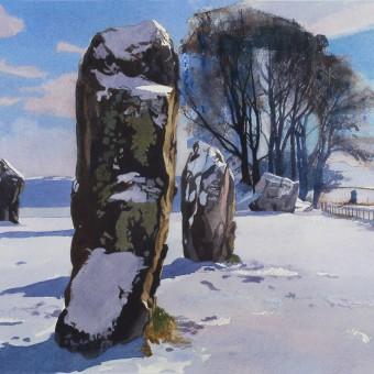 Avebury Stones, Winter