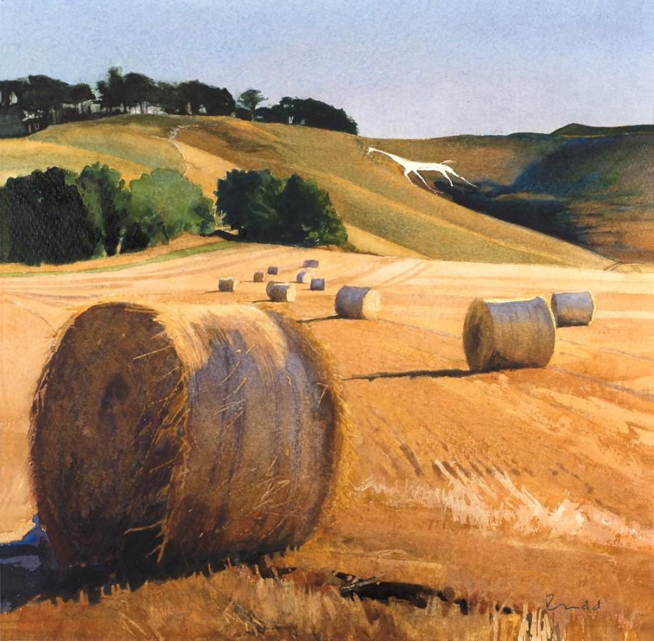 Harvest, Cherhill White Horse