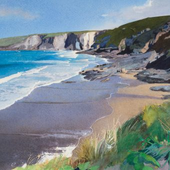 Incoming Tide, Trebarwith