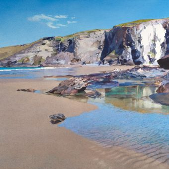 Trebarwith Pool