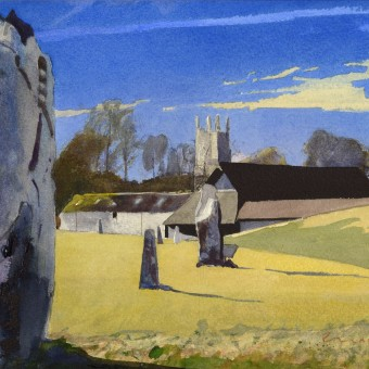 Avebury with Church