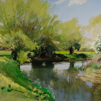 Avon, Great Somerford, Spring
