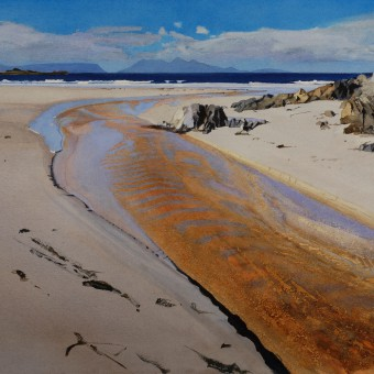 Beach River, Camusdarach, Arisaig