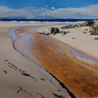 Beach River, Camusdarach, Arisaig