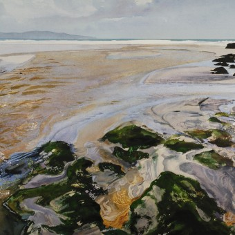 Beach River, St Ives Bay with Rocks