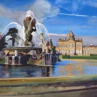Castle Howard & Atlas Fountain