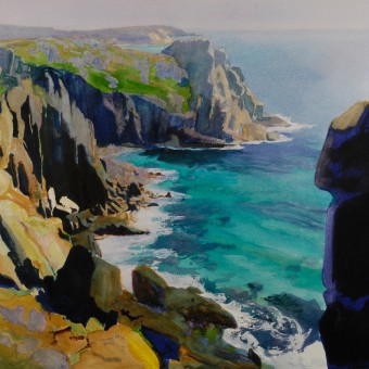 Cliffs, Land's End