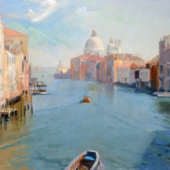 Grand Canal from Accademia
