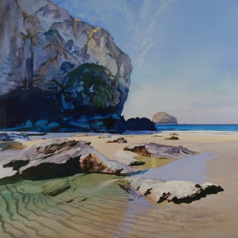Gull Rock, Tebarwith Strand