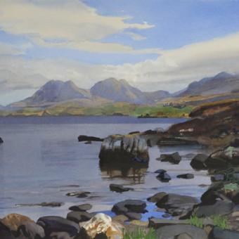 Loch Osgaig & Ben Mor Coigach