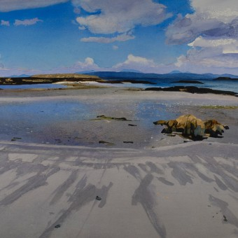 Low Tide, Lon Liath Looking towards Skye