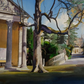 Minerva's Temple Sydney Gardens, Bath
