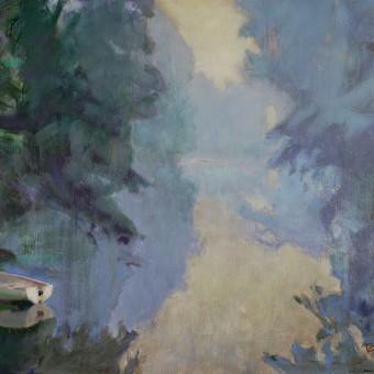 Mist, River Avon