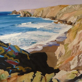 Pentreath Beach, The Lizard,-Cornwall