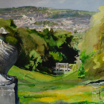 Prior Park with Urn
