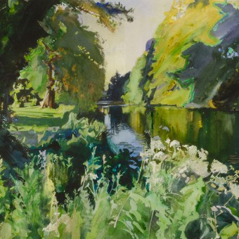 River Avon, Monkton Park, Summer