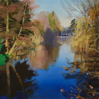 River Avon, Monkton Park, Winter