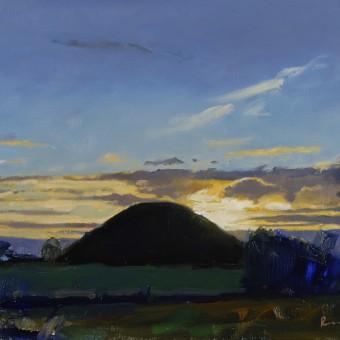 Sunset, Silbury