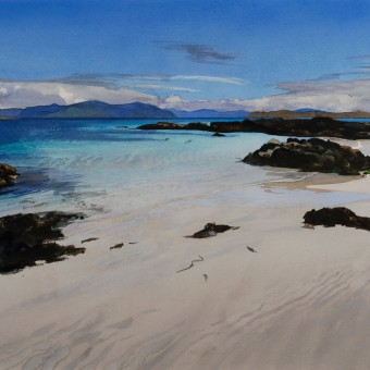Turquoise Sea, North Beach, Iona