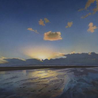 Winter Sky, Saunton Sands