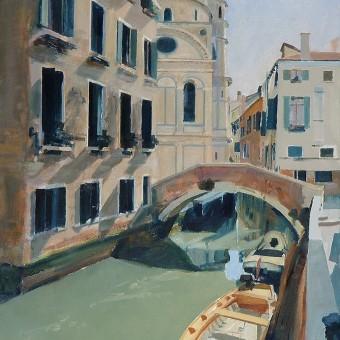 Yellow Boat Venice